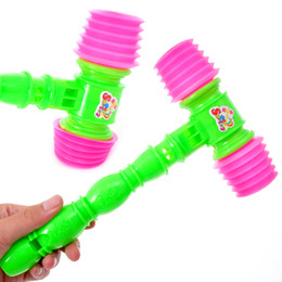 Wholesale Whisted belt vocalization plastic small hammer bb hammer sound toys baby toy e885