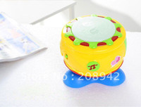 best music pc - Best selling New arrival baby rotating hand drum electronic music rhythm educational plastic toy