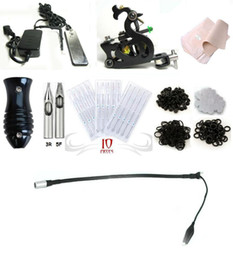 Wholesale Complete Phoenix Tattoo Machine Equipment Set Starter Kit Guns Supply Body Art