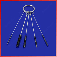 Beginner Kit beginner airbrush - G104Wholesale Tattoo Airbrush Air Brush Gun Tip Cleaning Brush Kit Clean Tool New
