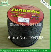 Wholesale LB mm Strands M Spectra Braid Fishing Line Super Strong Fishing Line SUNBANG