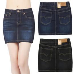 Women S Plus Size Denim Mini Skirt Online | Women S Plus Size ...