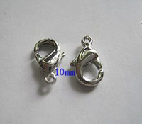 Wholesale 10MM Stainless Steel Lobster Clasps Fashion Jewelry Findings Jewelry Clasps