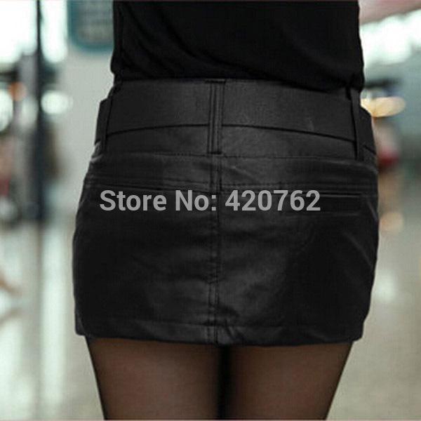 2017 Wholesale 2015 New Fashion Women Zipper Pencil Pu Leather ...