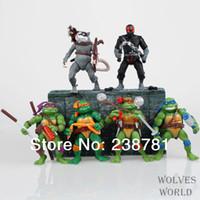 Wholesale set Classics anime Teenage mutant ninja turtles party supplies action figure toys inch
