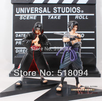 free shipping anime - Anime Naruto Uchiha Sasuke Uchiha itachi PVC Action Figures Collectible Model Toys set NTFG016
