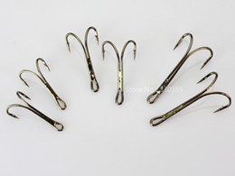 Wholesale Black Double Salmon Fly Tying Hooks Materials