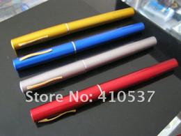 2017 bleu argent Gros-10pcs / lot, stylo Livraison gratuite mini-facile à transporter pôle tige 100cm 1m époxy de pêche rouge / bleu / or / argent bleu argent à vendre