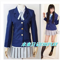 mio - K ON cosplay mio akiyama School uniform japanese anime cosplay carnival costume halloween party costumes for women girl