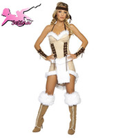 Wholesale halloween costumes for women Hot Selling Native Indian Role playing Disfraces fantasia High Quality amp Sexy cosplay XYD002