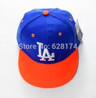 bebe caps - Hip hop cap cool child la cap baby hats boy baseball summer hat sunbonnet snapback baby boy captouca de bebe hat