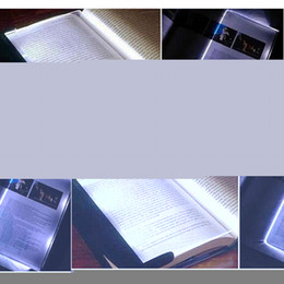 Wholesale PC New Magic Night Vision Light LED Reading Book Flat Plate Portable Car Travel Panel