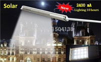 Cheap Wholesale-Outdoor Lighting 12 LED Solar Road Light Garden Pathway Wall Lamp LED Spotlights Solar Powered Panel Street Light free shipping