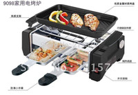 best quality grills - New arriver Great Promotion Electic Raclette Grill home use best quality and lowest price support pc