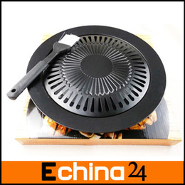Wholesale Fashion New Black Brazilian Grill Smokeless Barbeque Grill Electric BBQ Grill Indoor Cooking Grill Plate