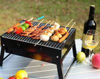 bbq wire - Outdoor Portable Barbecue Stove Charcoal BBQ Grill With metal wire