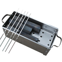bbq grill supplies - Size30 cm Quality Outdoor Indoor Portable BBQ Appliance Supplies Charcoal Picnic Camping Folding Stove Grills