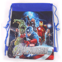 abs backpacks - school bags new fashion hot cartoon The Avengers children backpack bag for kids boys girls mochila satchel