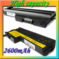 Cheap 4-cell Li-ion 14.8V 2600mAh Laptop Battery for IBM ThinkPad X60 SERIES FRU 92P1227, ASM 92P1170