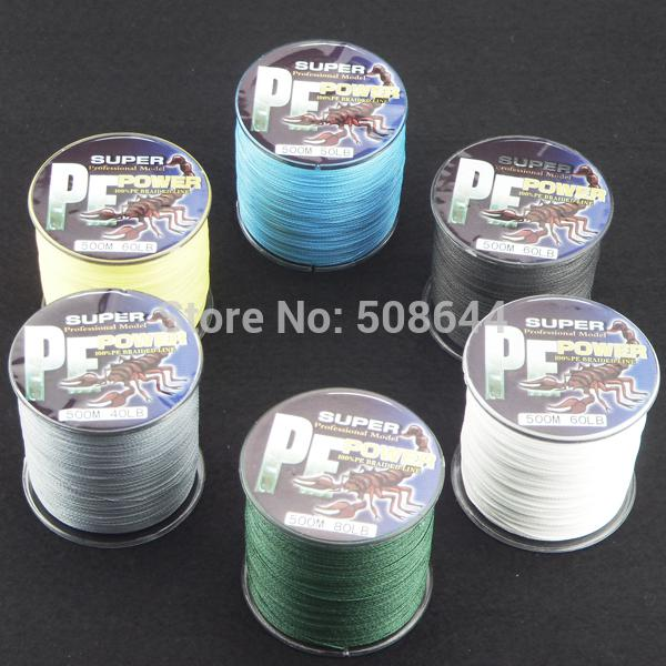 Wholesale topwin fishing tackle fishing lines braid pe for Bulk braided fishing line