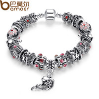 european style fashion for women - HOT SELL European Style Bracelet Silver Fish Charm fit pandora Bracelets For Women Fashion Jewelry XCH1236