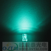 Wholesale High Quality x3x4 Rectangular square type Cyan led lighting beads brightness600 MCD for backlight