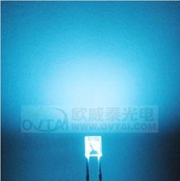 Wholesale High Quality and High lightness x3x4 Rectangular square type sky blue color led beads brightness600 MCD for backlight