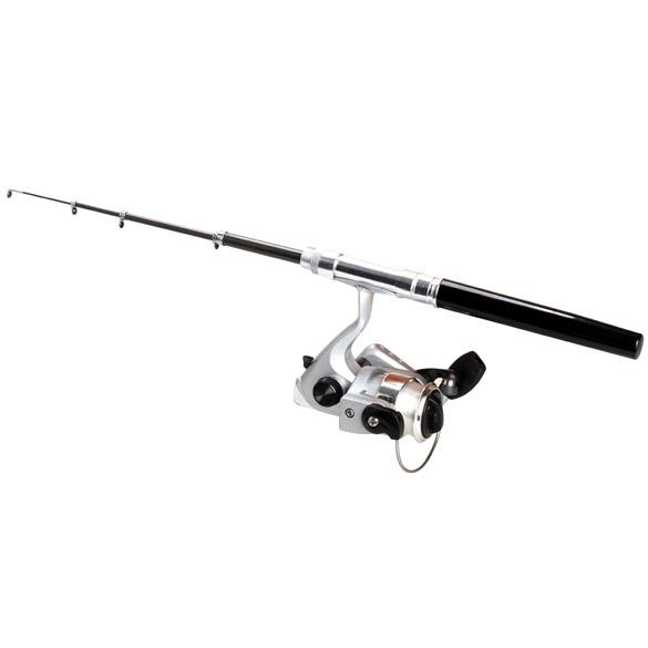 Wholesale compact telescopic fishing rod pole reel pocket for Compact fishing rod