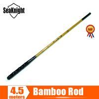 bamboo cane - SeaKnight Bamboo High Carbon Fly Telescopic Carp Fishing Rod Pole Stick Fiber Cane vara de pesca de carbono m carp_fishing
