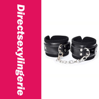 ankle handcuffs - Leather High Grade Ankle Cuff Sensual Toy Handcuffs Costume Accessories LC7079 Cheaper price Fast Delivery