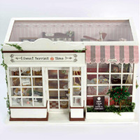berry toy - DIY Dolls Handmade Wooden Doll House Toys Accessories Furniture Miniature Toy Dollhouses Birthday Gift Sweet berry time