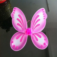 adult butterfly costume wings - quot x19 quot Halloween Fairy Wings Butterfly dress up Kids Adults Tinkle Bell Costume