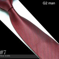 Wholesale Men s Microfiber Neckties fashion tie cravate neck ties striped Ceangail Krawatte neckcloth scarf neckwear