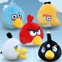 Wholesale boys amp girls Small pendant lovely animal round plush toy bird doll Children s birthday gift amp present