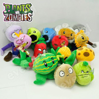 Wholesale Plants VS Zombies Soft Plush Toy With Sucker A full set of