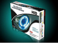 Best H4 9005 9006 9004 9007 H1 H7 HID Bi-xenon Projector Lens Light (Angel Eye) with slim ballast G3 !!