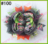 Wholesale NEWEST Halloween hair bows mix korker bows and boutique hair bows and layered corker bows a