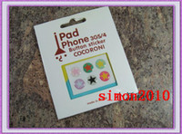 Wholesale 2011 Button Stickers Skin Sticker for ipad Iphone G G ipad2 ipad generation