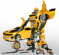 Yellow batman toys for sale - Hot Sale Toy For The Boys Robot Revenge Fallen Human Alliance Bumblebee and Sam Action Figures Toys Birthday Gift