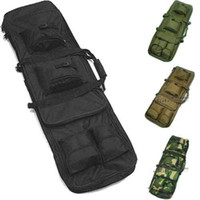 aeg sniper - High Quality Army cm quot Dual Tactical Rifle Sniper Carrying Case Gun Bag Sport Sniper AEG Carrying Case Bags