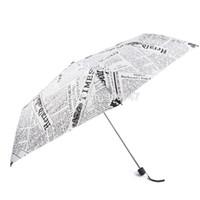 Wholesale Sun Rain Parasols Umbrella Novelty Items Pencil White Pink Newspaper Umbrellas For Women Men