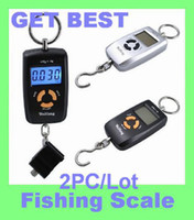 Cheap Wholesale-2pc lot Freeshipping 45kg Portable Electronic Digital Scale Hanging Fishing fish Hook Pocket Weighing Balance scales wh-a05L