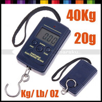 Cheap Wholesale-20g-40Kg Digital Hanging Luggage Fishing Weight Scale , freeshipping, dropshipping 5pcs lot #220