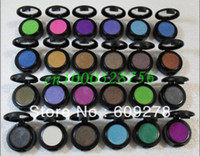 Wholesale Professional makeup Single Eye shadow pigment with different colors g Eye shadow pigments FREE POST SHIPPING