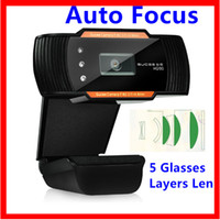 auto focus cmos - Freeshipping USB HD Webcam GUCEE HD90 USB Digital High Definition Camera and Microphone Auto Focus for Laptop PC