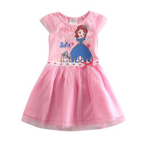 Wholesale Dora girl dress children dresses girls princess girls party dresses christmas child chidren nova kids Dora clothes
