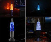 Wholesale USB Light Multi color Changing Rocket Lava Lamp LED Glitter Gift for PC Laptop