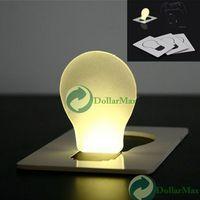 abs plasma - Sensor Movement Sale Abs w Novelty Gadget Plasma Ball Bola De Portable Pocket Led Card Light Lamp Put In Purse Wallet