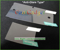 Wholesale Anti Glare Screen Protector film Guard for Nintendo DS with retail package MSP159A E