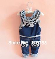 baby overalls pattern - New pure cotton baby bib pants Panda pattern baby trousers colors overall autumn spring winter year
